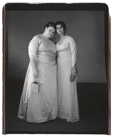 Maria Carroll and Coretta Gerould. Wyncote, PA 2006©Mary Ellen Mark, courtesy Janet Borden, Inc.