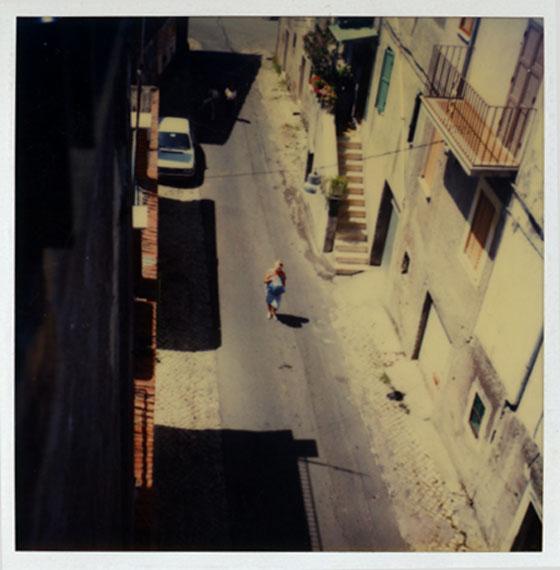 Andrey Tarkovsky: Larissa Tarkovskaya, San Gregorio, 14 July 1984, from Polaroid Portfolio, printed in 2007.