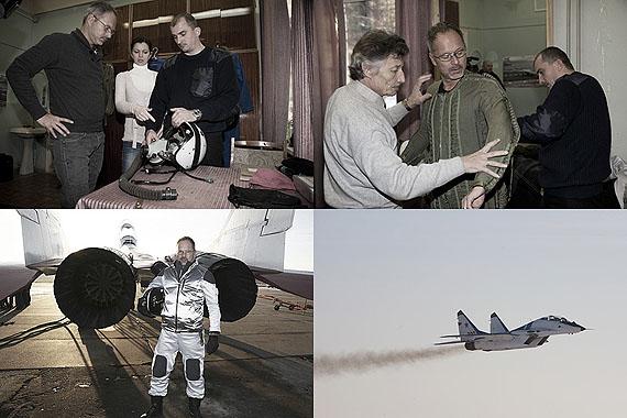Michael Najjar: Michael at Mig-29 Jet fighter training, © Michael Najjar