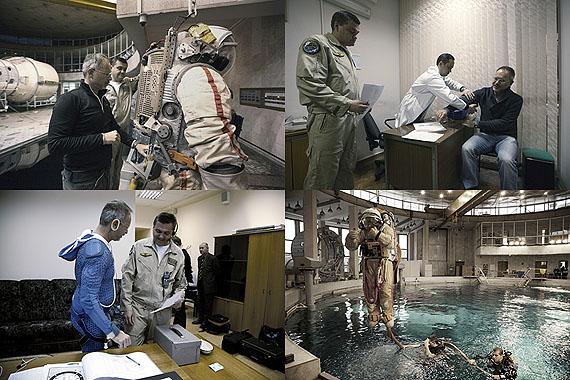 Michael at cosmonaut training in Star City, © Thomas Rusch
