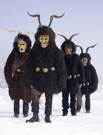 Krampus, Austria, from the series Wilder Mann, 2010-2011 © Charles Fréger