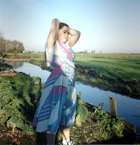 Hellen van Meene, Untitled, 1996C-Print, 29 x 29 cmCourtesy Sadie Coles HQ, London and the artist