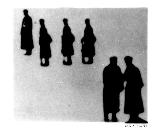 Igor Savchenko 2.93-5, 1993. Toned silver gelatin print