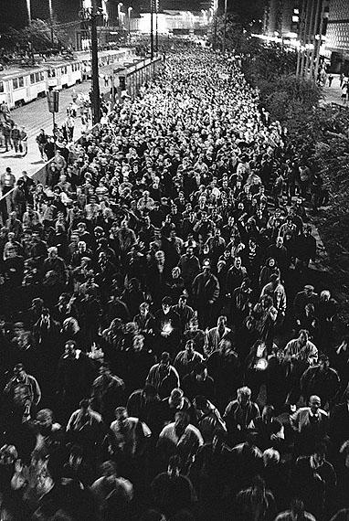 Matthias Hoch: Leipzig, 16. Oktober 1989