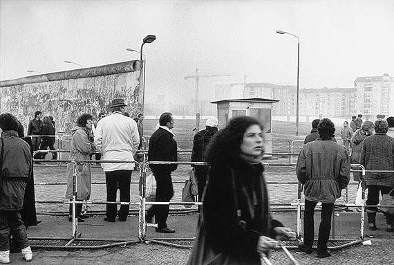Ursula Arnold: Berlin, Potsdamer Platz, 01.12.1989