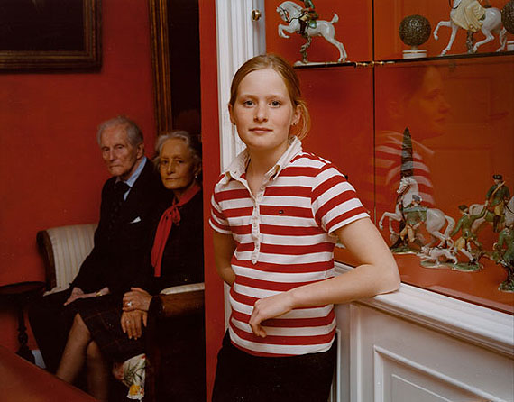 The Granddaughter, 2004, from The Europeans © Tina Barney
