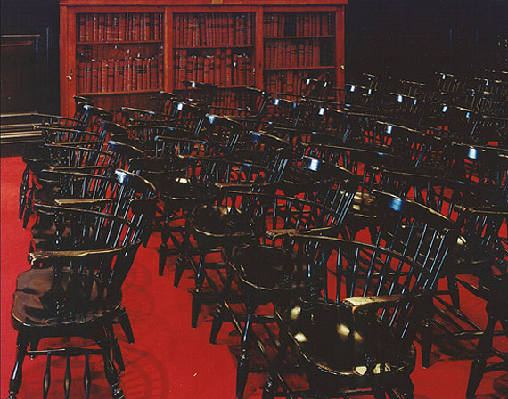Clubs of New York - Chairs, NY Bar © Jim Dow