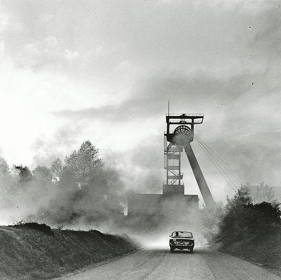 © Rudolf Holtappel, Luftschacht Zeche Hugo Gelsenkirchen-Buer, 1959-60, © Privatsammlung Berlin