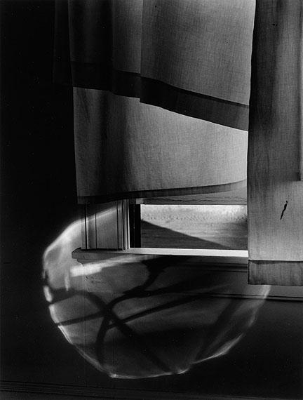 Lot 117Minor White, Windowsill Daydreaming, Rochester, NY, silver print, 1958. Estimate $10,000 to $15,000.