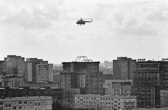 Wiebke Loeper: Berlin, Mollstraße 31, Helikopter, 04.10.1989
