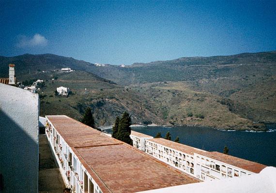 Wolfgang Kil: Port Bou (Spanien), Friedhof, 22.09.1989