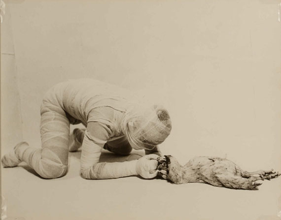 Rudolf Schwarzkogler6th Action, Vienna, spring 1966Vintage silver printCourtesy WestLicht, Vienna