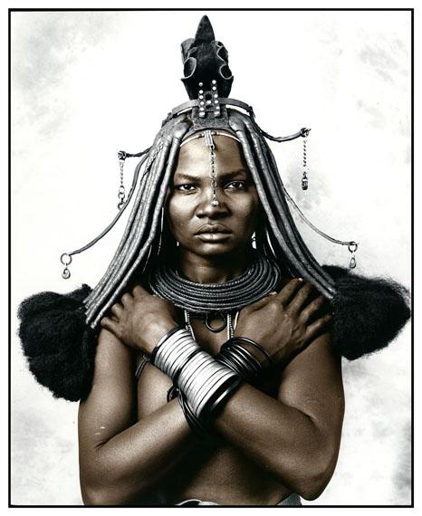 Katukula (18), Picture 1, Himba Tribe, Namibia 2012Silver Gelatin Print, tonedEdition of 1050 x 60 cm, 77 x 86 cm© Jan C. Schlegel / Courtesy of Bernheimer Fine Art Photography