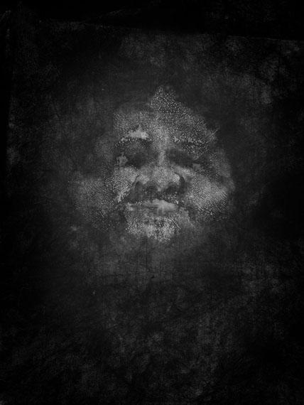 Reiner Riedler from the series Sweat - Portrait #02, 2012                 pigment print, 65 x 80, 100 x 120 cm, Ed: 5 + II, 5 + II