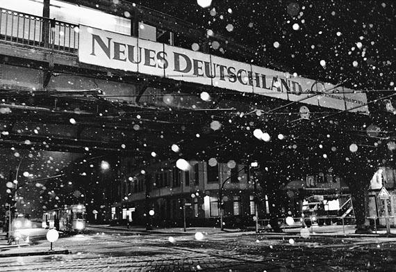 Ludwig Rauch: Berlin, Schönhauser Allee, Neues Deutschland, 23.11.1989