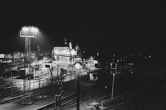 Kathrin Senf: Sassnitz, Fährhafen, 31.12.1989