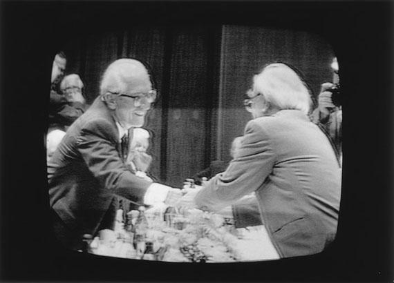 Ulrich Wüst: Berlin, Fernsehbild, 06.10.1989