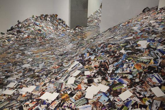 Erik Kessels, 24hrs in Photography, Installation at Foam Amsterdam, 2011. Photo: Gijs van den Berg