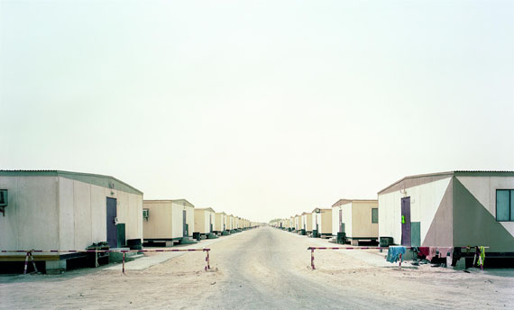 Gregor Sailer: Camp I, Ras Laffan, Qatar, 2010© Gregor Sailer