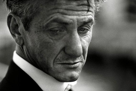 Maurice Haas: Sean Penn, Baur au Lac, Zürich, 2011