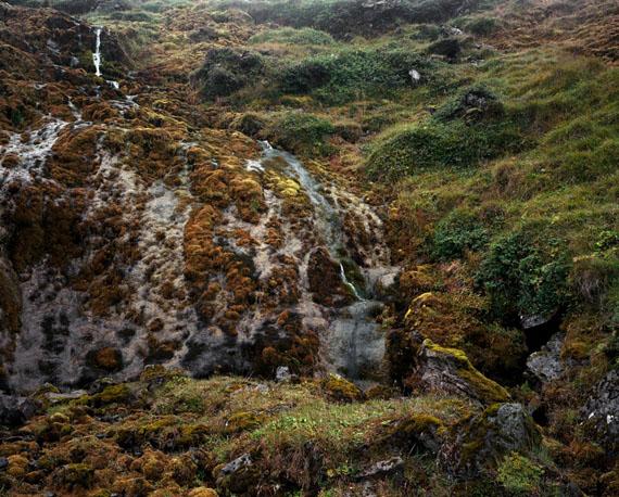 Bruno Augsburger: Fountain II, 2011, Iceland