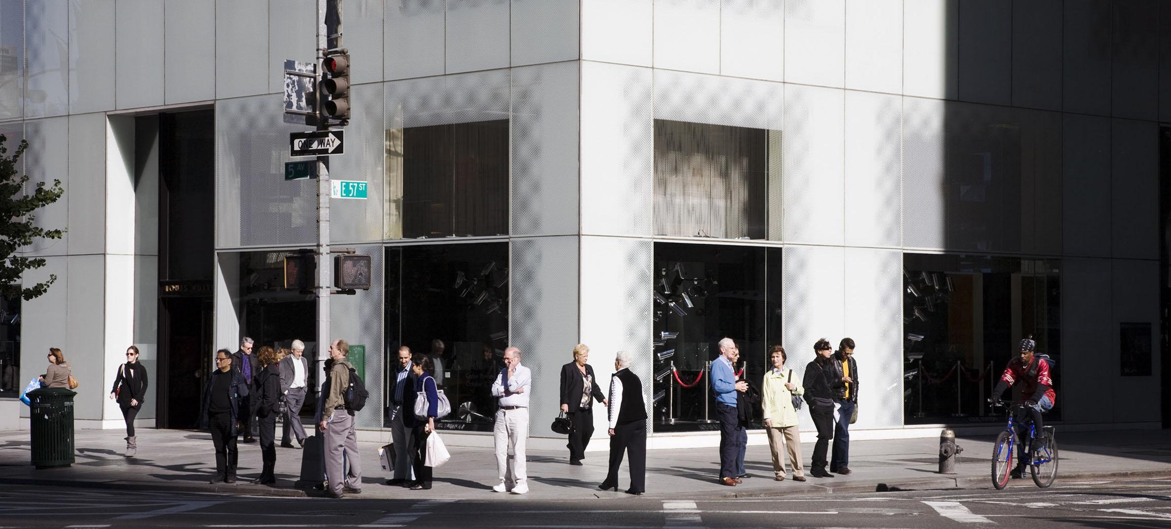Gudrun Kemsa: Fifth Avenue 2, 2009, 86 x 198 cm, C-Print, Diasec