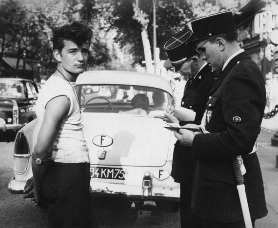 George Friedman(n), 1960 (Polizeikontrolle)