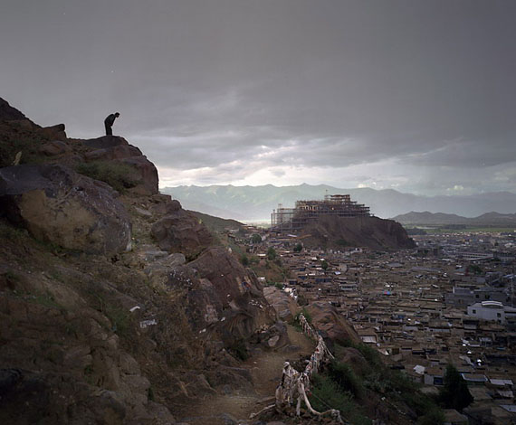 """Rizake, Tibet"" (2006) C-Print. 47.78 x 60cm - Ed. of 12; 95.56 x 120cm - Ed. of 6