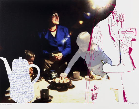 Natascha Stellmach: I have a blender, 2013archival ink & pen on photo paper, 69 x 86 cm, unique piece