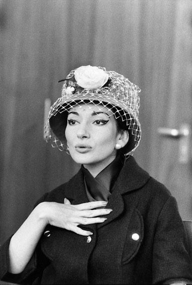 Robert Lebeck: 'Maria Callas in Stuttgart 1959' © Robert Lebeck