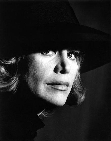 Liselotte Strelow: 'Hildegard Knef, 1963' © Liselotte Strelow, Courtesy Johanna Breede PHOTOKUNST