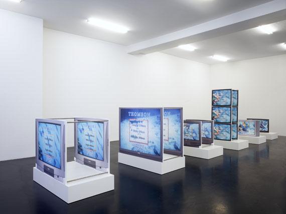 "Simon DennyInstallation view, ""Deep Sea Vaudeo,"" Galerie Buchholz, Cologne, 2009Courtesy Galerie Buchholz, Berlin/Cologne"