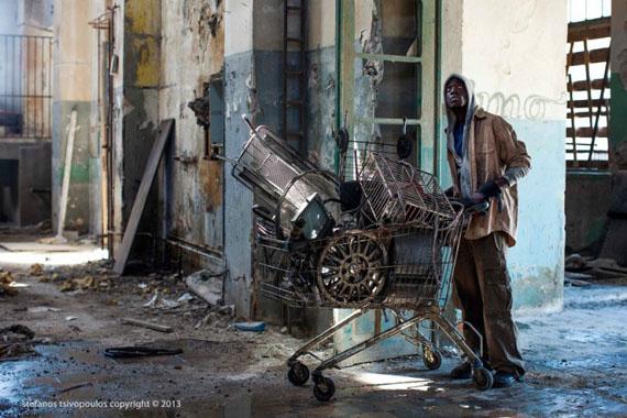 Stefanos Tsivopoulos, History Zero (still), 2013. Video. Courtesy of the artist and Kalfayan Galleries, Prometeogallery di Ida Pisani.