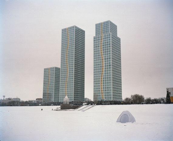 Ikuru Kuwajima, Astana winter urbascapes. Courtesy of the artist.