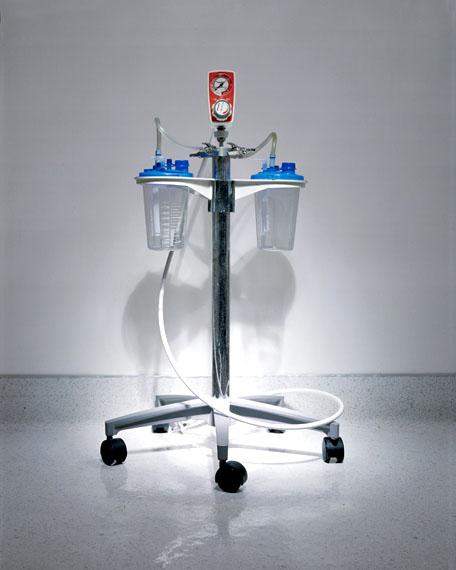 "Cara Phillips ""Blue Liposuction Machine"" from the series ""Singular Beauty"""