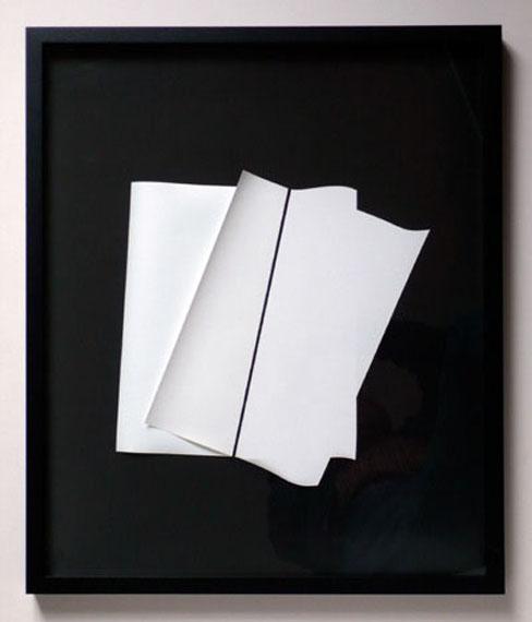 Gottfried Jäger -  Fotopapierarbeit 2011-IV-1-2, 50 x 60 cm, Unikat