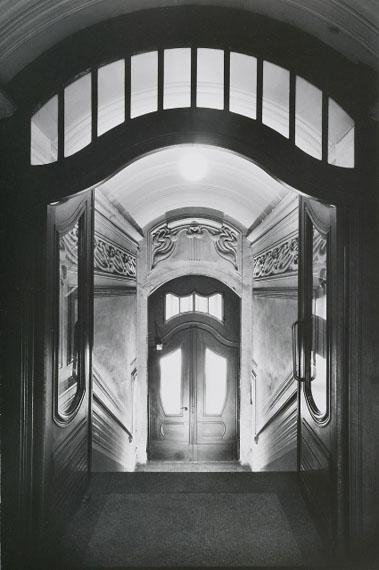 Bertram Kober, Johannisallee #04, aus der Serie Die Bauten des Paul Möbius, 1987