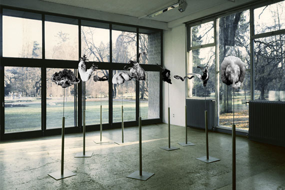 Eva Maria Ocherbauer, Still Alive, 1989 (Ausstellungsansicht von Seiichi Furuya)