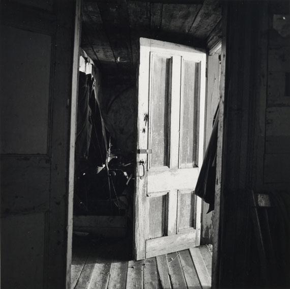 Walker Evans: [Interior View of Robert Frank's House, Nova Scotia], 1969-71© Walker Evans Archive, The Metropolitan Museum of Art