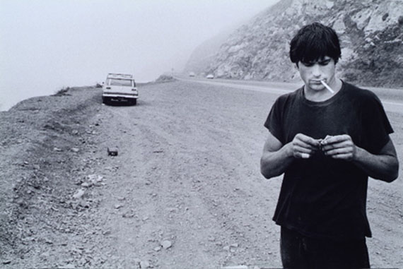Clockwork Malibu/Rick Dano on the Highway - Malibu, California, 1977Silver Gelatin Print, later print50,8 x 61 cm (20 x 24 in.)Edition of 25
