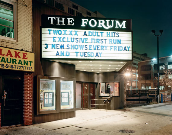 The Forum, Philadelphia, 2008Archival Pigment Print76,2 x 61 cm (30 x 24 in.)Edition of 3, plus 2 AP's
