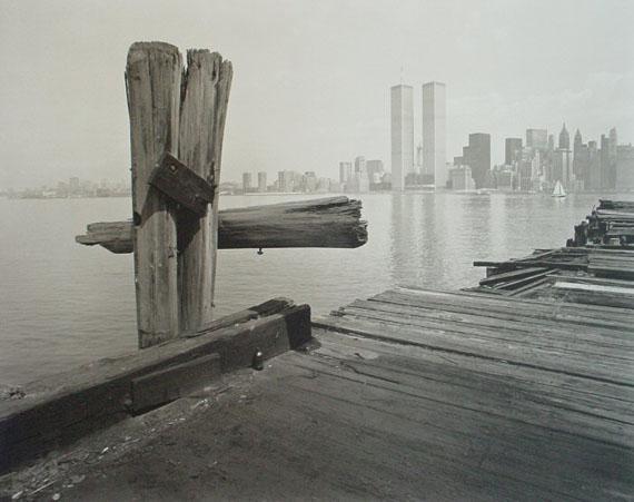 George TiceHUDSON RIVER PIER, Jersey City, New Jersey, 1979Platinum Palladium Print