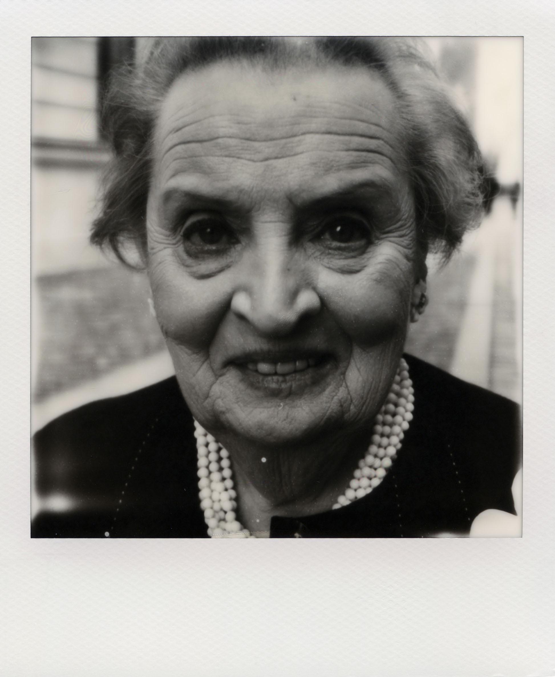 Oliver Mark: Madeleine Albright, Berlin 2013