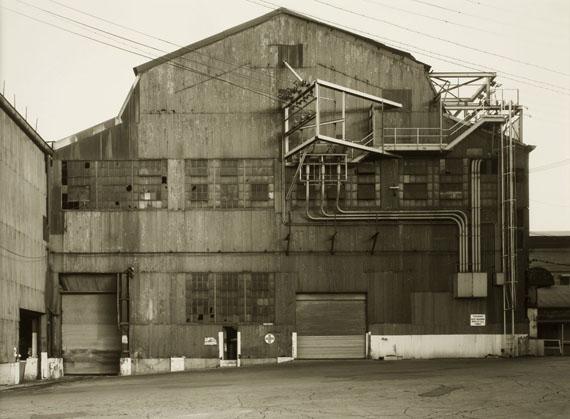 Bernd and Hilla BecherIndustrial Facades, Steubenville, West Virginia, USA, 1987Gelatin silver print11.5 x 15.5 in.29.2 x 39.4 cm.Edition of 5 Est. US$10,000–12,000