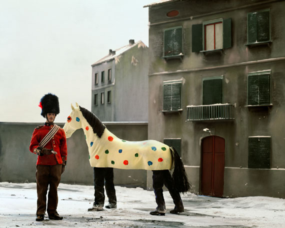 Winter Stories #57, (Sunday Afternoon), 2009© Paolo Ventura, Courtesy of ATLAS Gallery, London