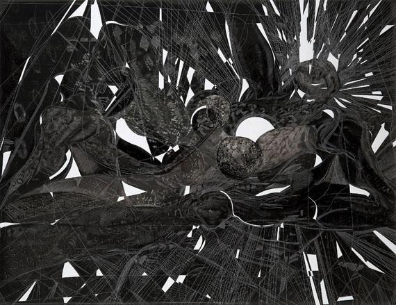 Combustion, 2013© Sebastiaan Bremer, Courtesy Edwynn Houk Gallery