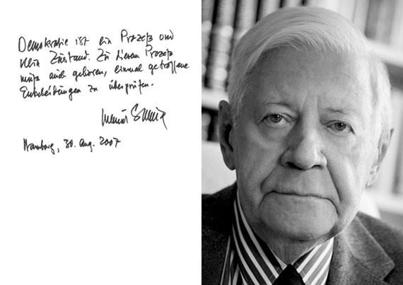 Holger Jacobs: Helmut Schmidt, 2007