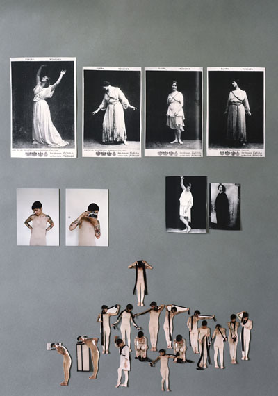 Re-Enacting Isadora Duncan mit Roberta Lima I, 2009, analoger C-Print, 85x66 cm © Anja Manfredi