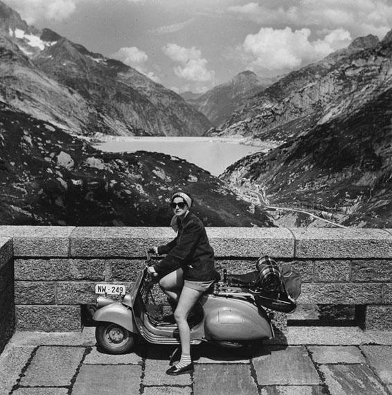Arnold Odermatt: Grimselpass. Innertkirchen, 1953Copyright: Urs Odermatt, WindischCourtesy: Galerie Springer Berlin