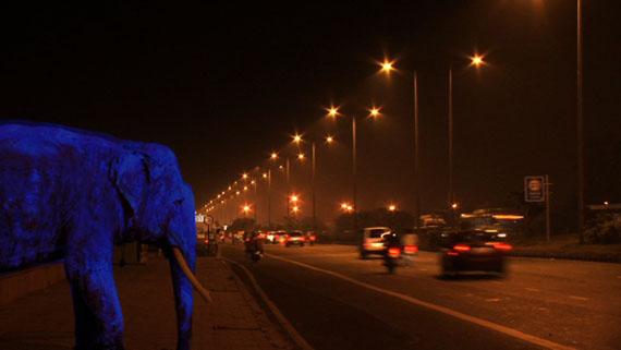 Raqs Media Collective. Strikes at Time. 2011. Film still. Courtesy Raqs Media Collective